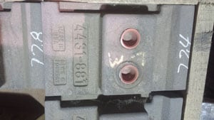 CJ04431881 CANICA 2000-2050 IMPELLER, For Crusher - Vertical Shaft Impactor