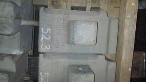 "CJ8506 CANICA 24"" 5 SHOE 50#, For Crusher - Vertical Shaft Impactor"