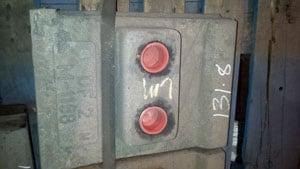 M-1358 ISC 77-82 VSI FEED DISC ORIGINAL P#8144 100#, For Crusher - Vertical Shaft Impactor