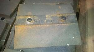 M1000 SPOKANE 82 SKIRT LINER 23#, For Crusher - Vertical Shaft Impactor