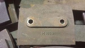 M1029 SPOKANE 74 ISC 77-82 SKIRT LINER 2 O-H 20#, FOR CRUSHER - VERTICAL SHAFT IMPACTOR